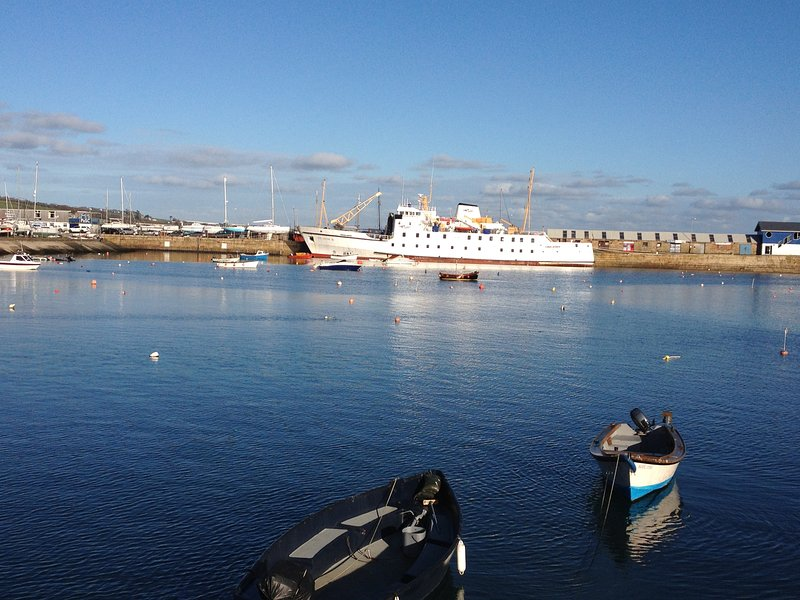 Take a day trip to the Isle of Scilly, ferry departs 5 minutes walk from the cottage.