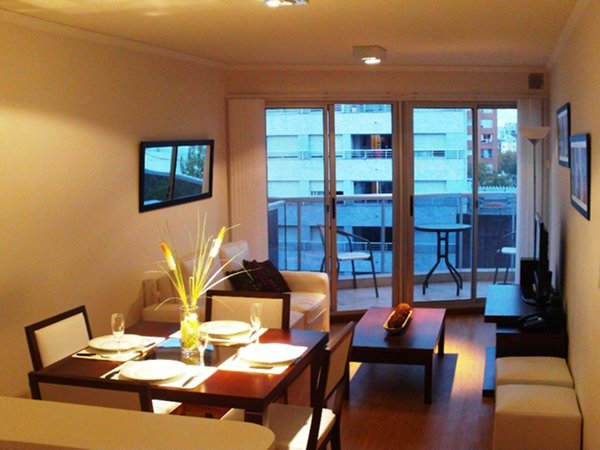 Excelente Apto De 1 Dormitorio Y Sofa Cama En Puna Carretas, holiday rental in Montevideo