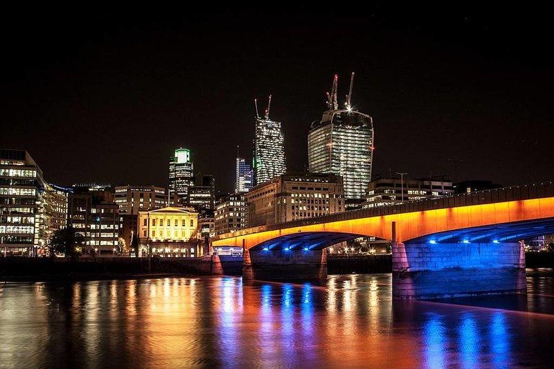 London Bridge is only 10.
