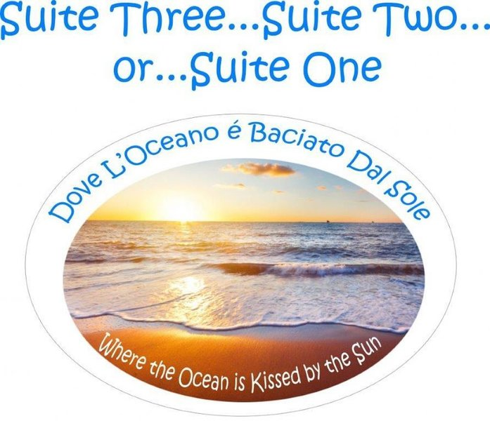 Suite 1, Suite 2 or Suite 3 available!