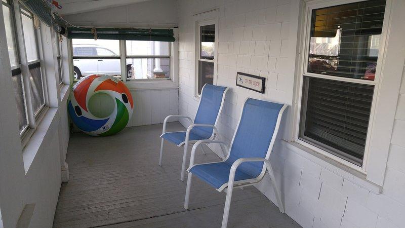 Koppla av på verandan