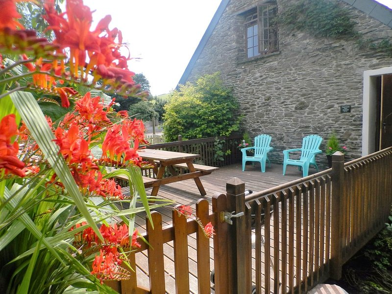 TREGONHAWKE FARM APARTMENT, comfortable, pet friendly, first-floor apartment, Ferienwohnung in Millbrook