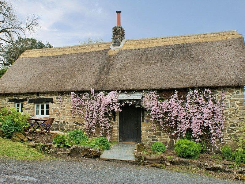 THE GARDEN COTTAGE, historic Devon cottage on the edge of pretty village. In, vacation rental in Okehampton