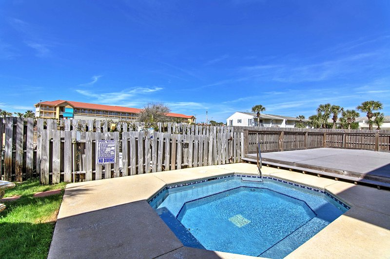 Plenty of golf clubs sit within a 15-minute drive of this beachside property!