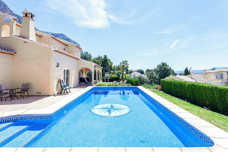 Jesus Pobre Villa Sleeps 8 with Pool Air Con and WiFi - 5237978, holiday rental in Jesus Pobre