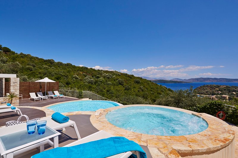Agios Stefanos Sinion Villa Sleeps 8 with Pool Air Con and WiFi - 5238056, holiday rental in Agios Stefanos