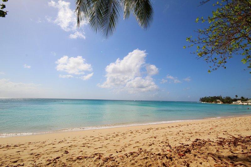 Unbeatable beachfront location