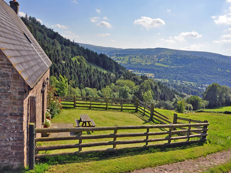 Ysgyfarnog Hir - Mountain side cottage in Brecon Beacons - BOW27, holiday rental in Gilwern