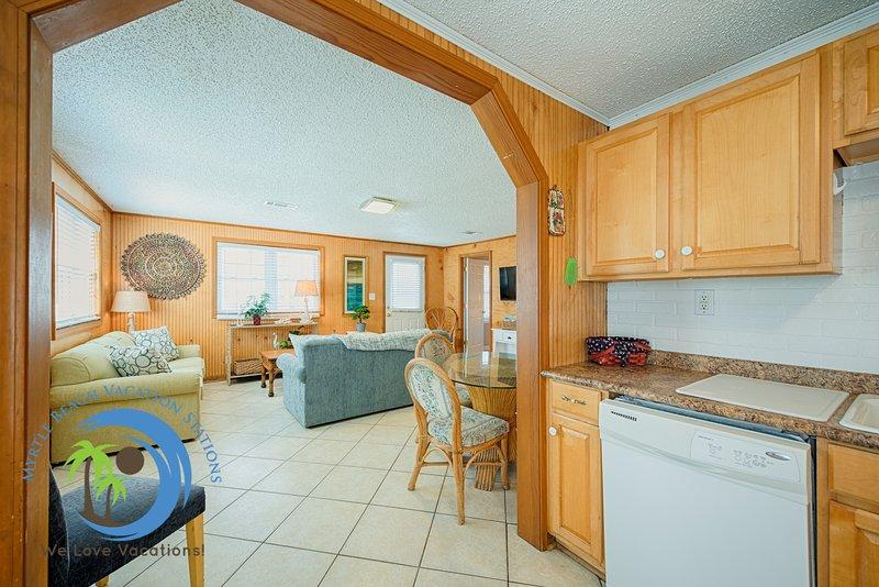 Cucina con vista Living Room