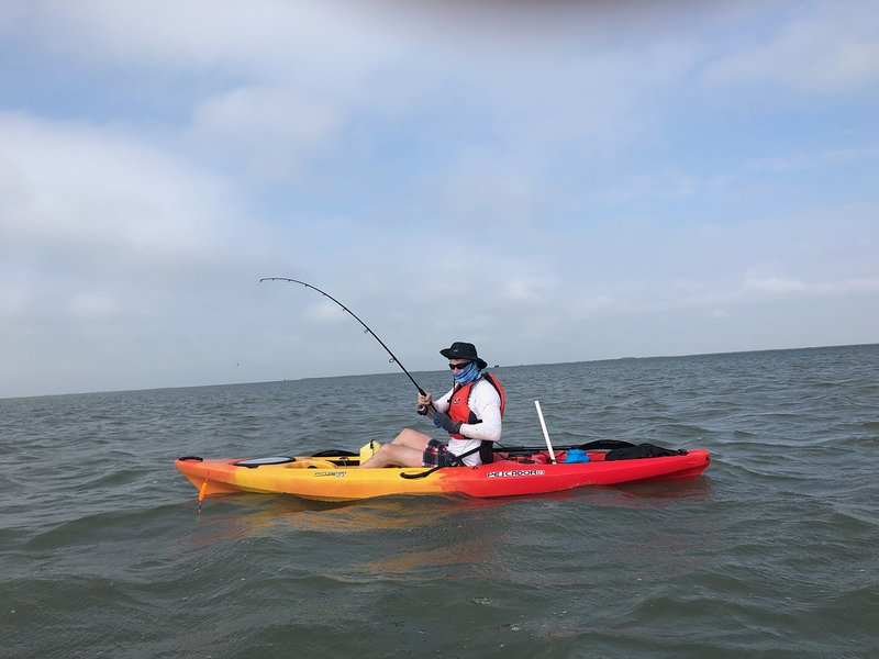 Give Hector Rios a call, Coastal Bend Kayaks, provides day rentals and guided trips. Great prices..