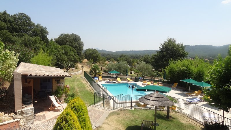 Beautiful house with pool access, holiday rental in La Verdiere
