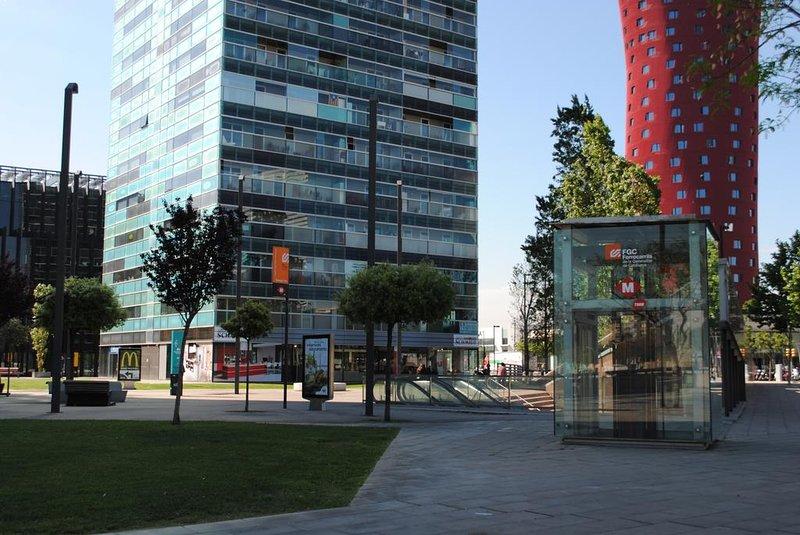 Apartment Fira Barcelona Plaza Europa, holiday rental in L'Hospitalet de Llobregat