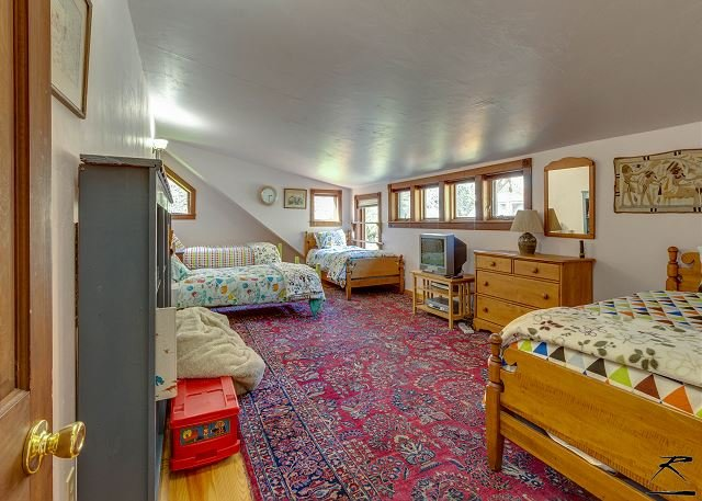 dormitorio con dos camas para los niños! Capacidad 4.