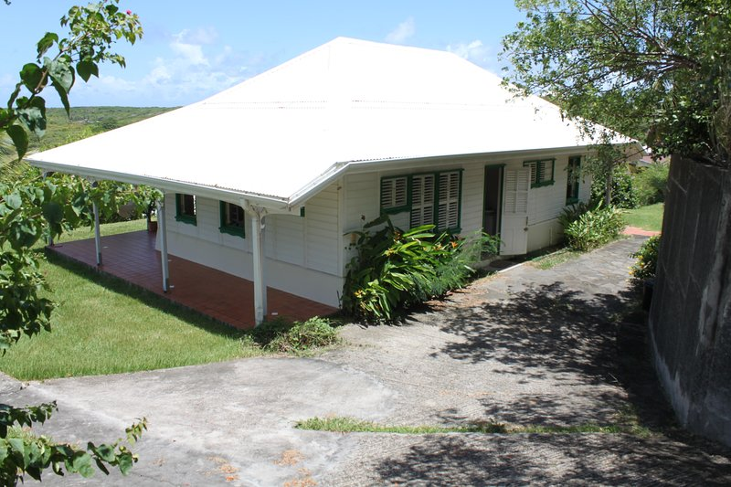 South Marine, typically Creole villa