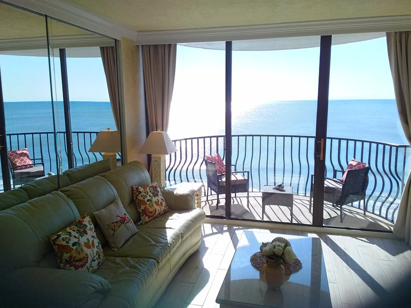 Endless day dreaming and relaxing oceanfront comfort awaits . . .