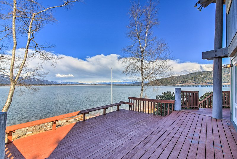 Take advantage of the home's dock, paddle boat, and paddle boards!