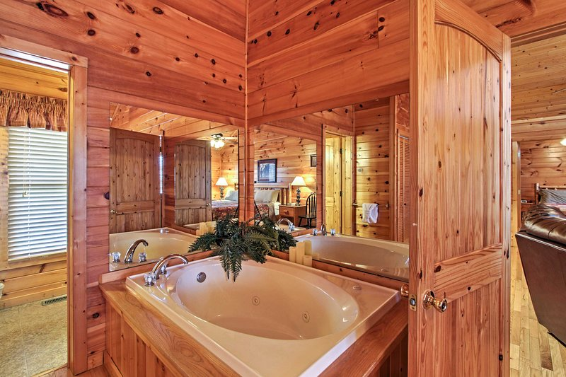 Soak your sore muscles after a day of skiing.