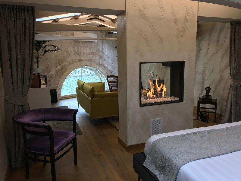 MURANO Suites - RUBINO avec cheminée