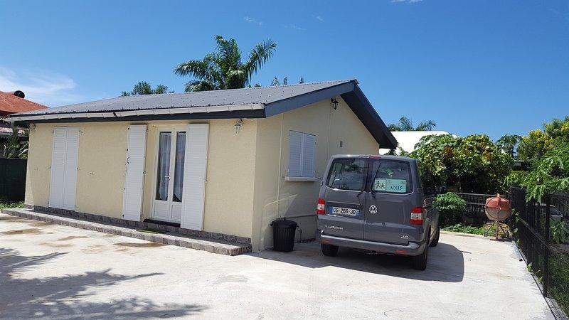 Votre maison de vacances à la Réunion, alquiler vacacional en Bras-Panon