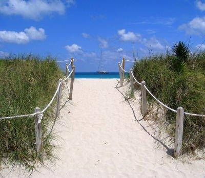 accesso diretto alla spiaggia