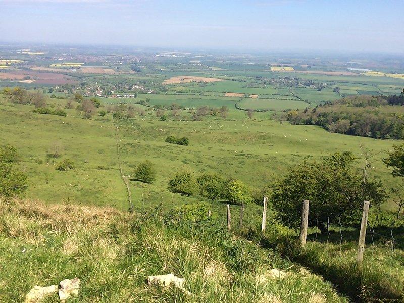 Bredon Hill, non loin de la propriété