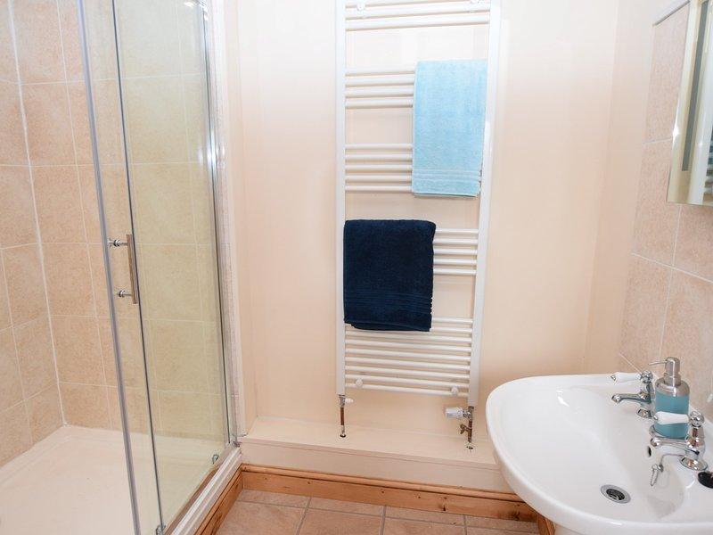 Shower room on the ground floor