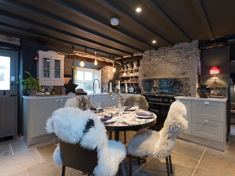 Stunning country kitchen with style and glamour
