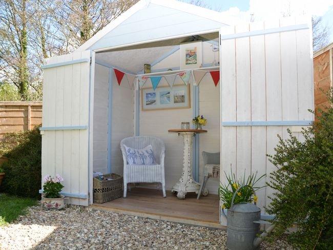 Maison d'été située dans le jardin privé