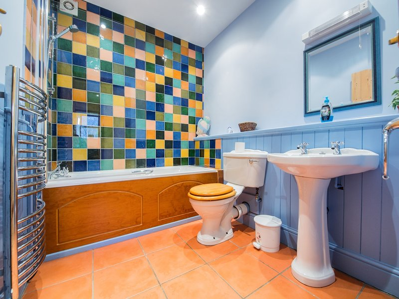 banheiro brilhante