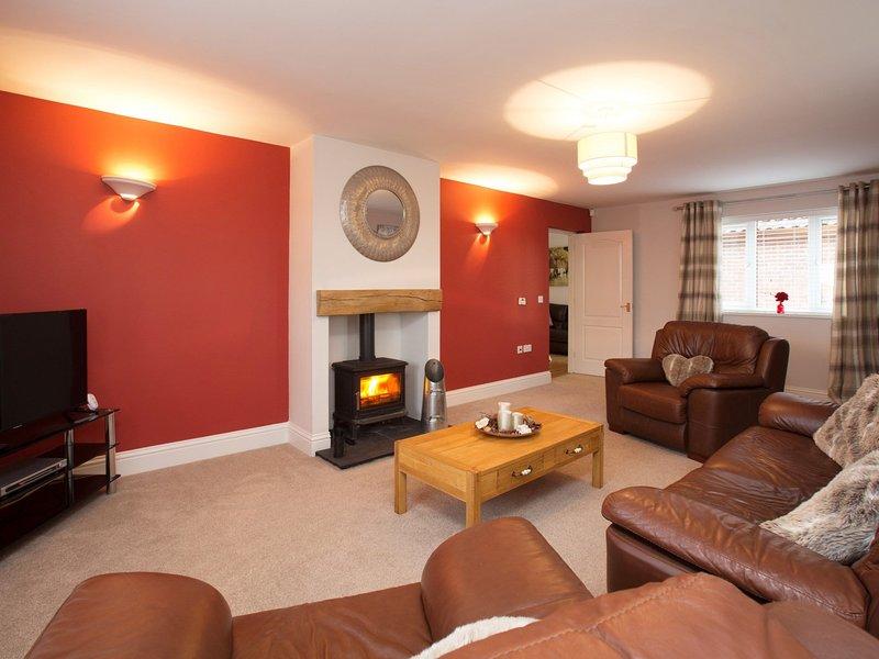 Prachtige lounge met aandacht voor detail
