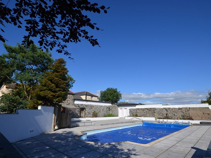 Views over the shared heated outdoor pool