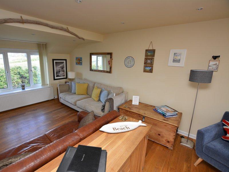 Stunning lounge with stylish furnishings
