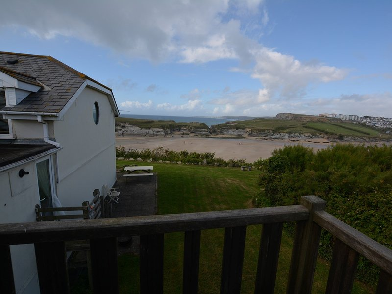 Enjoy coastal living just yards from Porth beach