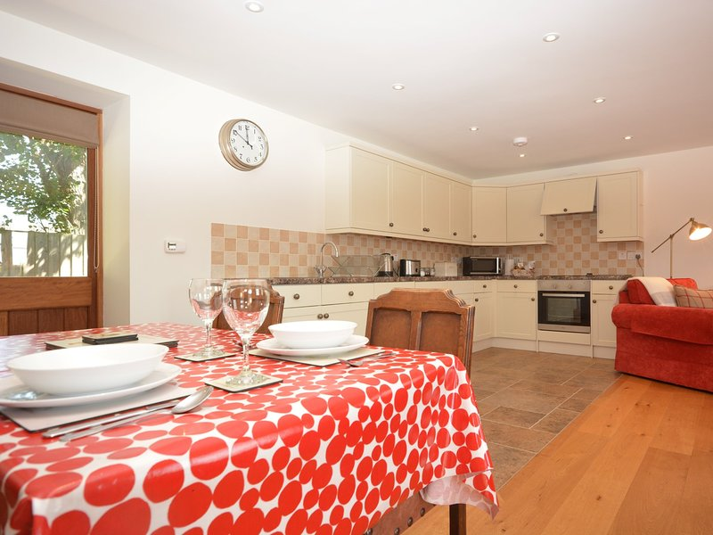 Spacious open plan lounge/kitchen/diner
