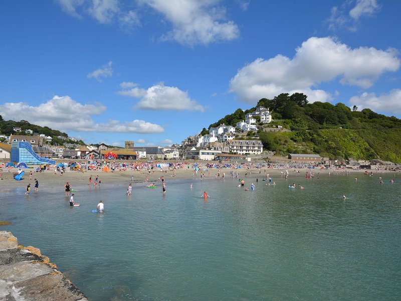 View of Looe less than 3 miles away