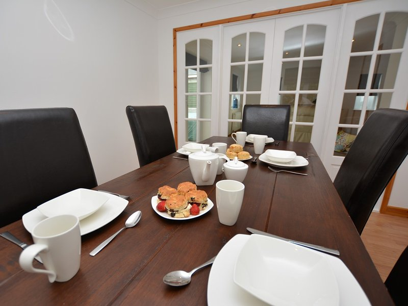 Gather the family around the dining table