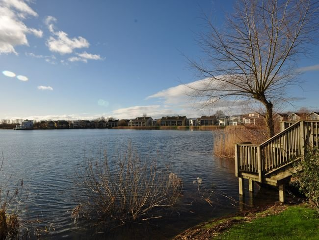 Lakes on the grounds