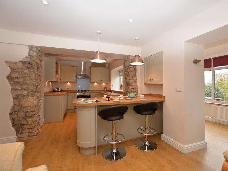 Küchenbereich mit Theke