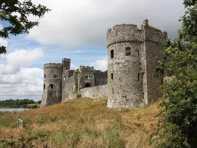Explore Carew Castle during your stay