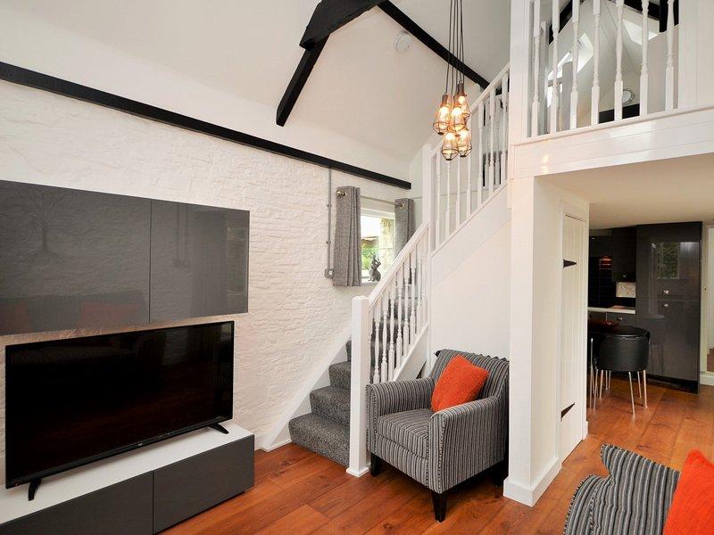 Moderner und gemütlicher Lounge-Bereich