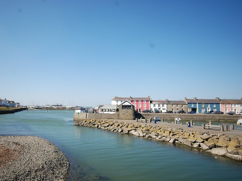 Beautiful Aberaeron harbour