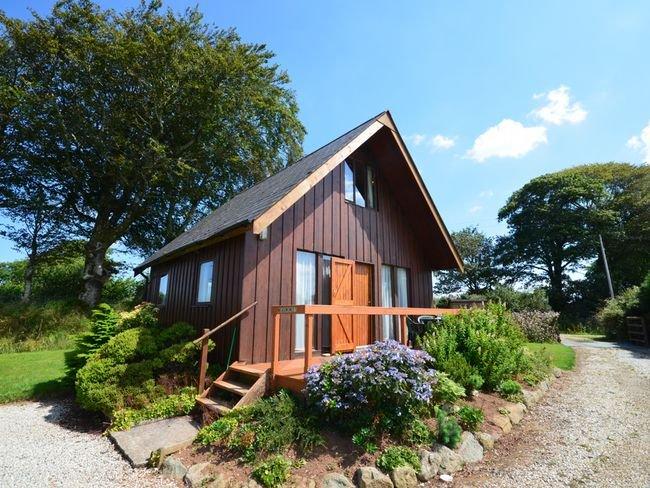 View towards this beautfiul scandinavian lodge