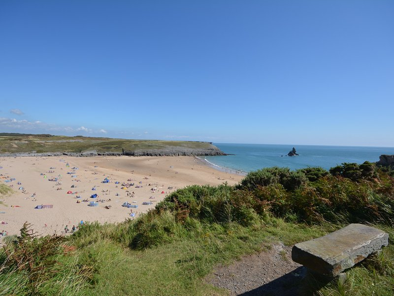 Nearby Broad Haven South beach