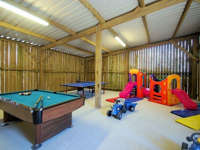 Shared games barn