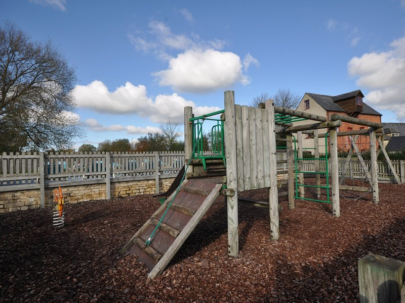 A great adventure for children in the shared play area