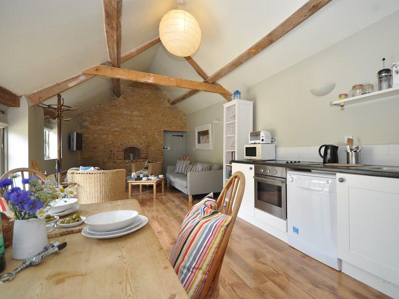 Stylish open-plan converted barn