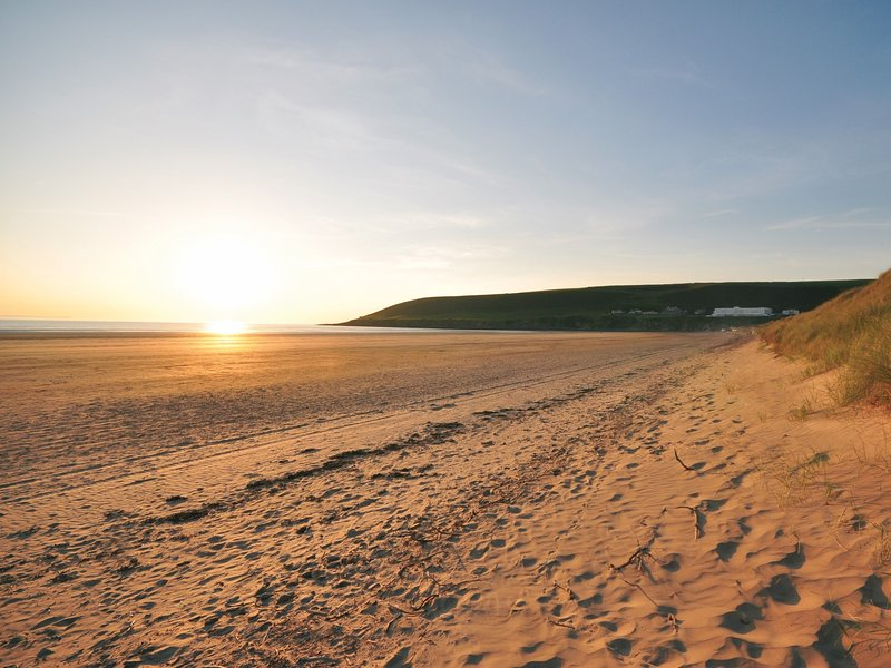 Saunton Beach a short drive from the property