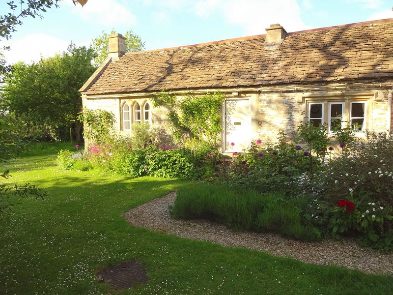 View towards the cottage