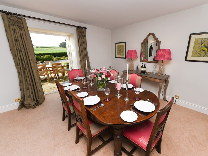 Formal dining room for those special occasions