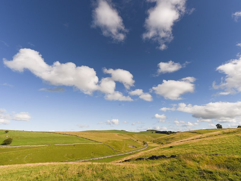 Explore the rolling hills of the Peak district